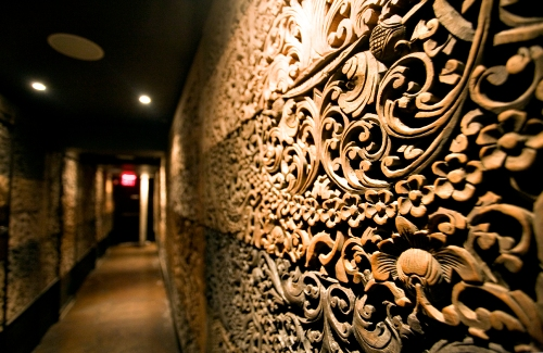 Wood Carved Walls