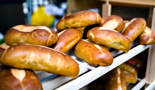 Pretzel Rolls from The Clerkenwell