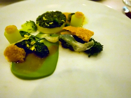 Broccoli at Eleven Madison Park