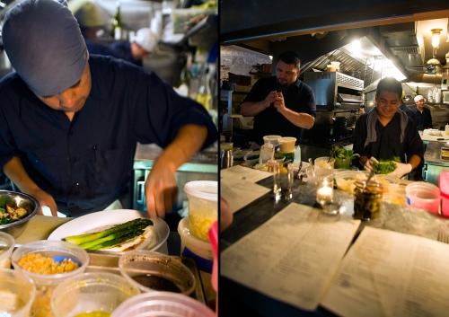 Chefs at Work at Joseph Leonard