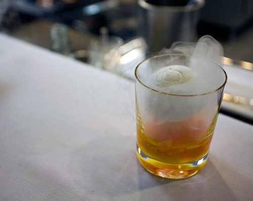 Nitro Cocktail at Eleven Madison Park