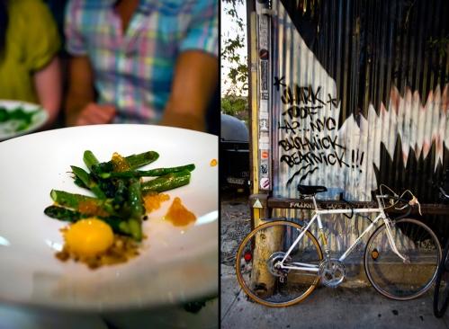 Asparagus at Roberta's