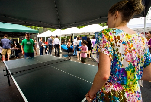 Ping Pong at the Hester Street Fair Picnic