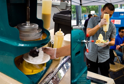 Shaved Ice from the Shaved Ice Shop