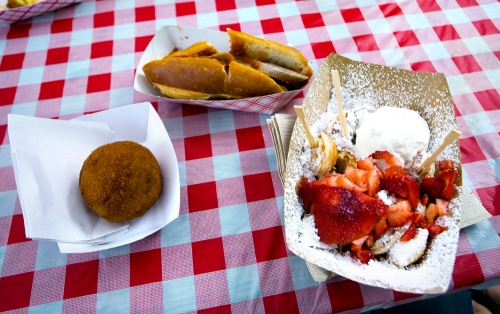 Food from Hester Street Fair Summer Picnic Vendors