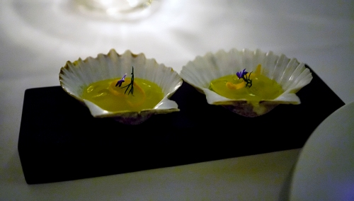 Scallop Ceviche at Eleven Madison Park