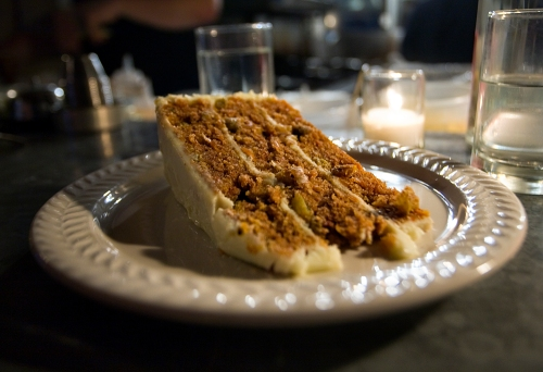 Carrot Cake at Joseph Leonard