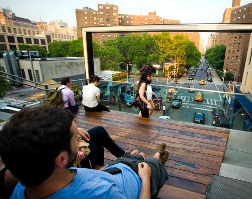 Viewing Area at The High Line, Phase Two