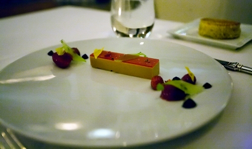 Foie Gras Terrine at Eleven Madison Park